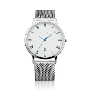 The Lusso - Silver Mesh