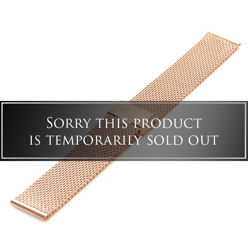 Rose Gold Mesh - 20MM - SOLD OUT