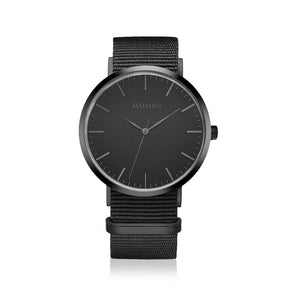 NOIR - NATO + BONUS LEATHER STRAP (SOLD OUT)