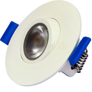 "2"" Downlight / Adjustable J-Box Canless SnapTrim"