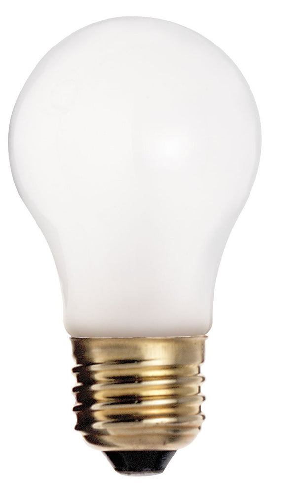 S3811 - 40 Watts - Satco -  Frosted Incandescent Light Bulb - 280 Lumens - A15 - Medium Base - 130V