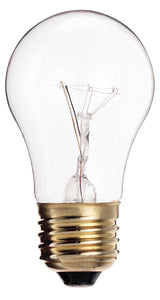 S3870 - 60 Watts - Satco -  Clear Incandescent Light Bulb - 580 Lumens - A15 - Medium Base - 130V