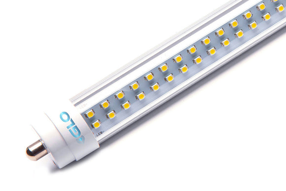 GLO - LED - 8FT - T8 TUBE - 36 Watt - 3600 Lumens - 10 Year Warranty