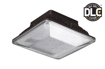 Utopia - LED - Surface Canopy Luminaire - 100-277V - 40 Watt - 5000K - 5 Year Warranty