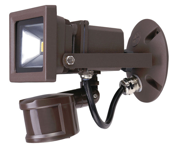 CTL - LED - Square Motion Security Flood Light - 10W - 5000K - 700 Lumens - 5 Year Warranty