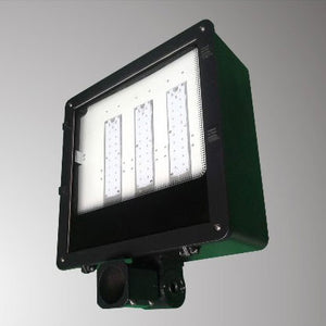 CTL - LED - 120 Watts - Shoe Box Flood Light - Bronze Finish - Day Light - 5500K - 5 Year Warranty