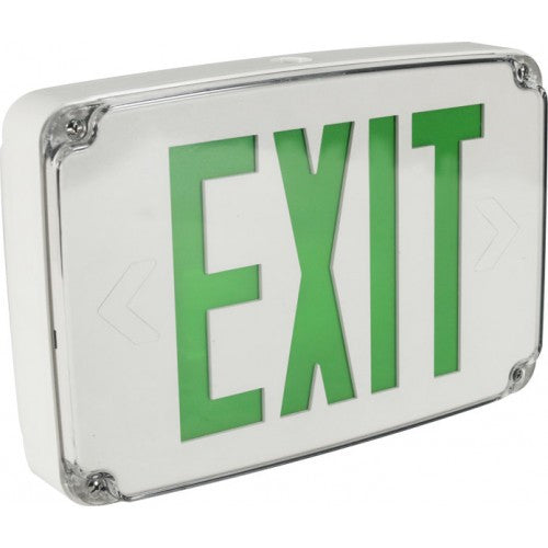 Orbit - LED - Micro EB Only - Exit Sign - 120VAC - UL Listed for Wet Location
