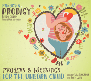 For pregnant mothers who want their unborn baby to listen to how wonderful they are and how much they are loved, Preborn Prodigy has the audio mp3 and CD called Prayers & Blessings for the Unborn Child.