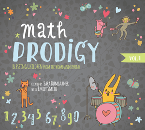 To introduce children to the terminology and basic math concepts, Preborn Prodigy has the audio mp3 and CD called Math Prodigy.