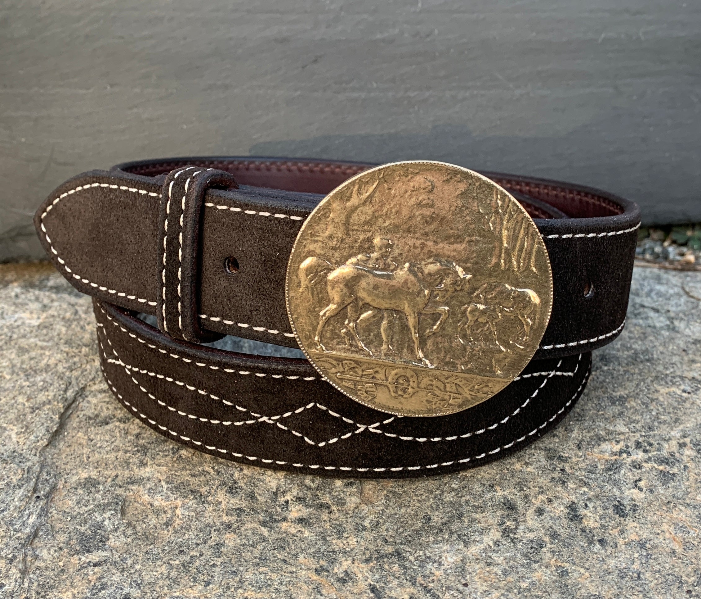 Bucolic Bronze Buckle and Belt