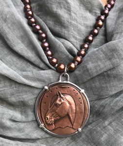 Jacques Cartier Medal on Copper Pearls