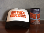 Outback Truckers Cap and Stubby Combo