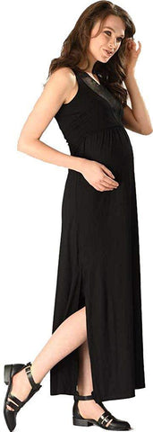 Peek-A-Boo Nursing Maternity Glam Dress
