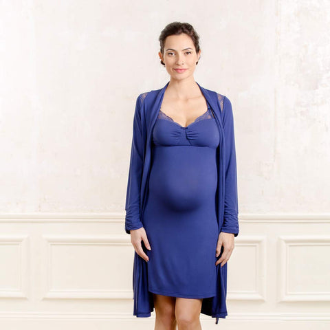 Cache Coeur Serenity Maternity and Nursing Robe - XL