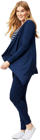 Cake Maternity Womens Waterfall Maternity Wrap Cardigan