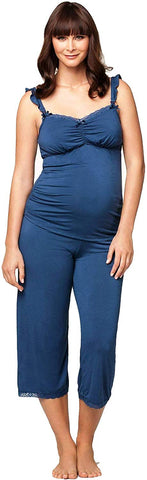 Cake Maternity Blue Berry Torte Nursing and Maternity Pajama Set