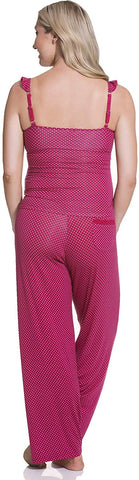 Cake Maternity Rhubarb Torte Nursing and Maternity Pajama Set