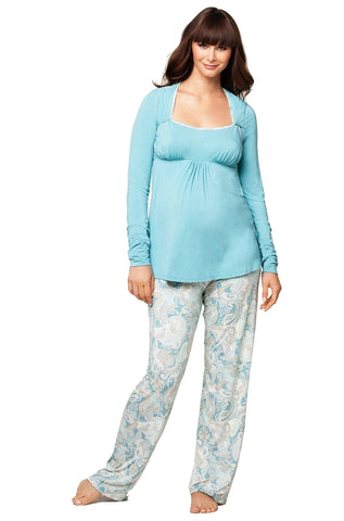 Cake Maternity Creme Brule Nursing and Maternity Pajama Set