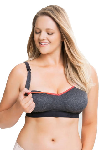 Sugar Candy Crush Maternity & Nursing Seamless Bra (for G-K US/F-H UK Cups)