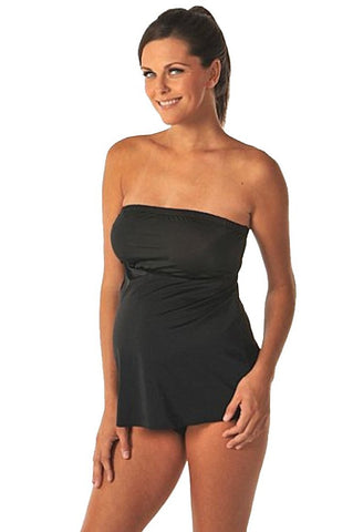 PregO Maternity strapless mini style swimsuit