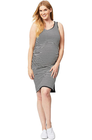 Cake Maternity Womens Sleeveless Reversible Maternity Dress