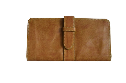 Weylyn Walkway Wallet - Cognac Yellow