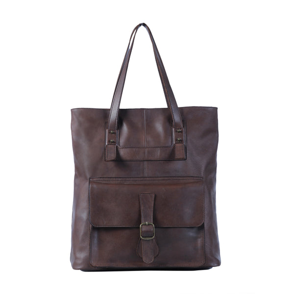 Mercer Dark Brown Totebag