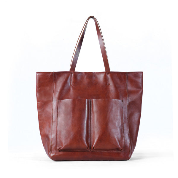 Walkway Lifestyle Tote - Caramel Red