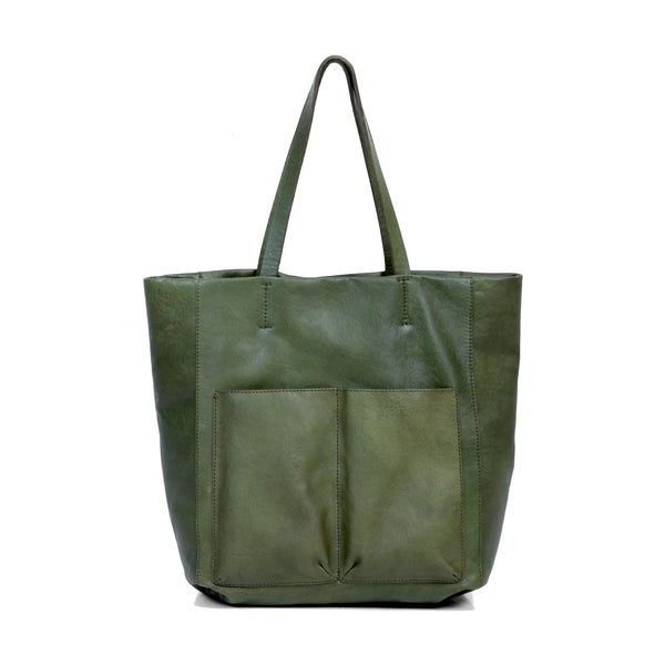 Walkway Lifestyle Tote - Olive Green