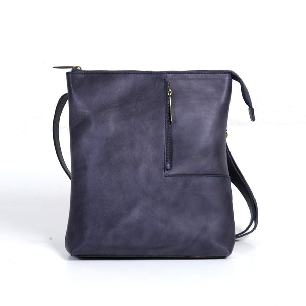 Gaspard Sling Bag - Navy Blue