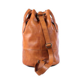 Clement Drawstring Bag - Cognac