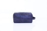 Paolo Toiletries Bag - Navy Blue