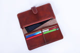 Weylyn Walkway Wallet - Caremel Red