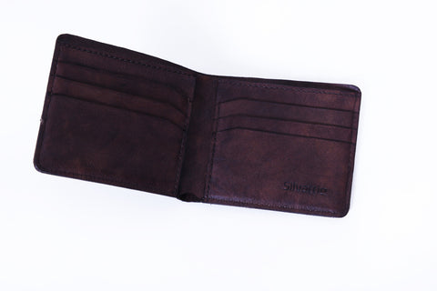 Wynne Walkway Wallet - Dark Brown