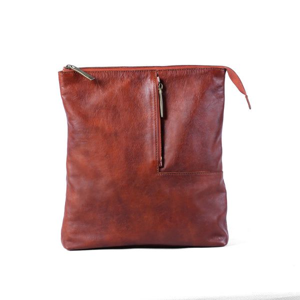 Gaspard Sling Bag - Caramel Red