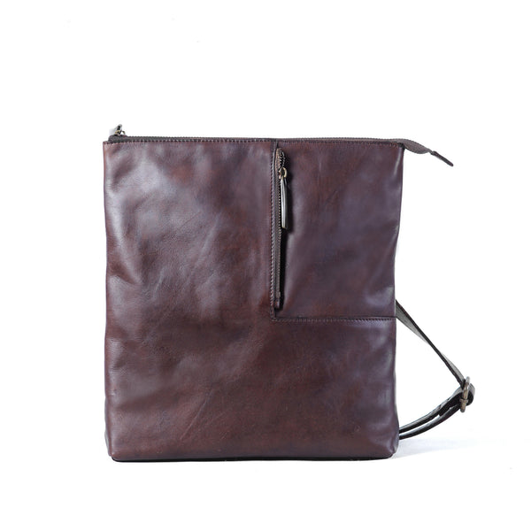Gaspard Sling Bag - Dark Brown