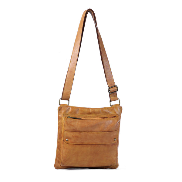 Rayane Sling Bag - Cognac Yellow