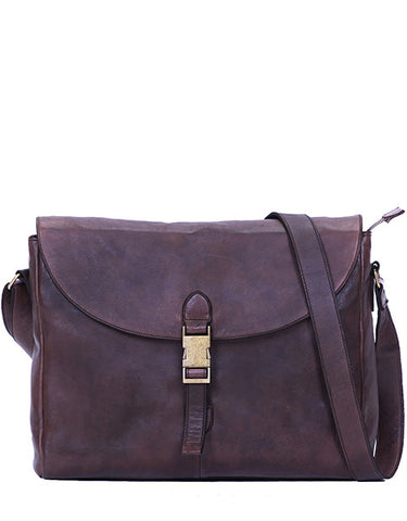 Jac Messenger - Dark Brown