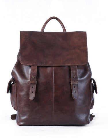Vanni Walkway Backpack - Dark Brown