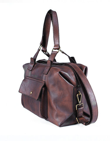 Vickery  Walkway Duffle Bags - Dark Brown