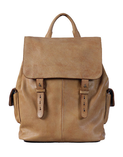 Vanni Walkway Backpack - Cognac
