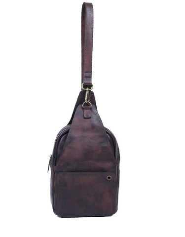 Florent Sling Bag Dark Brown