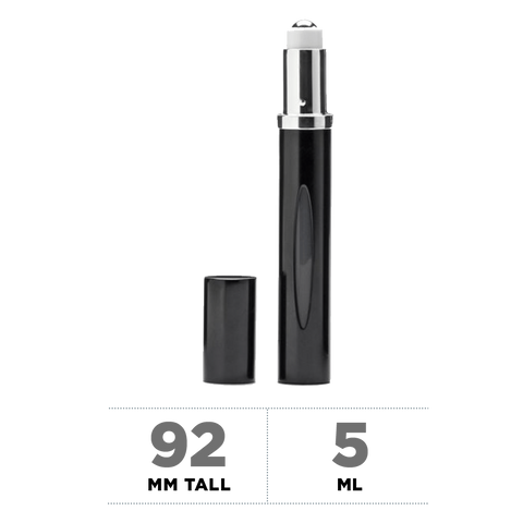 Black Refillable Rollerball