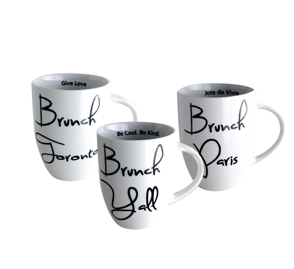 Bruch Collection Mug Trio