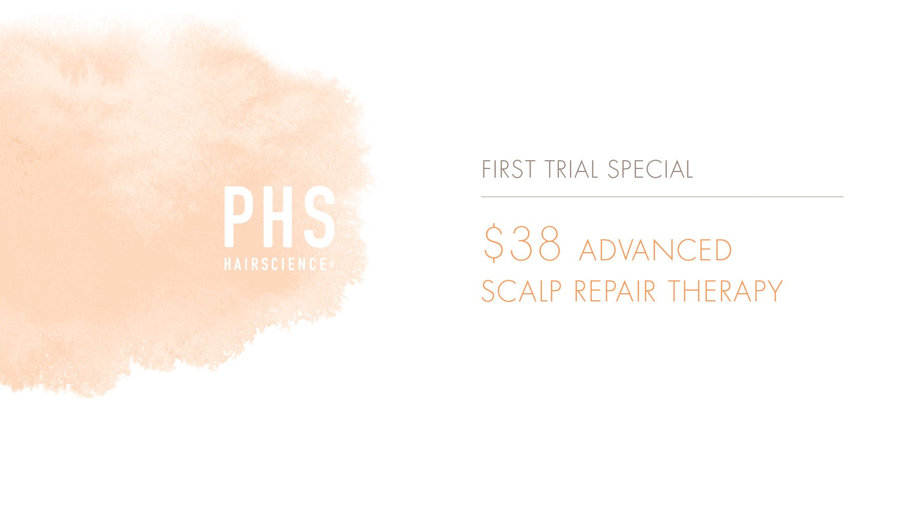 phs hairscience treatment trial scalp therapy