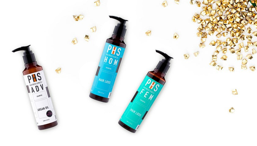 PHS Hairscience Home Care hair and scalp products