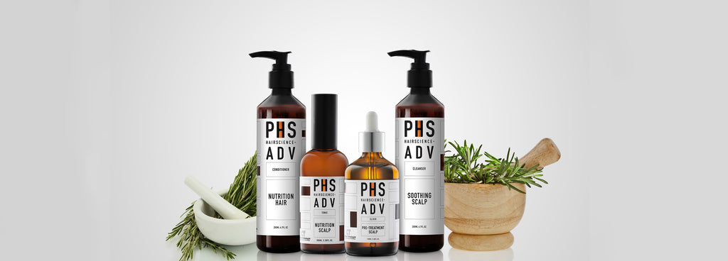 PHS Hairscience, hair scalp products, treatment, homecare