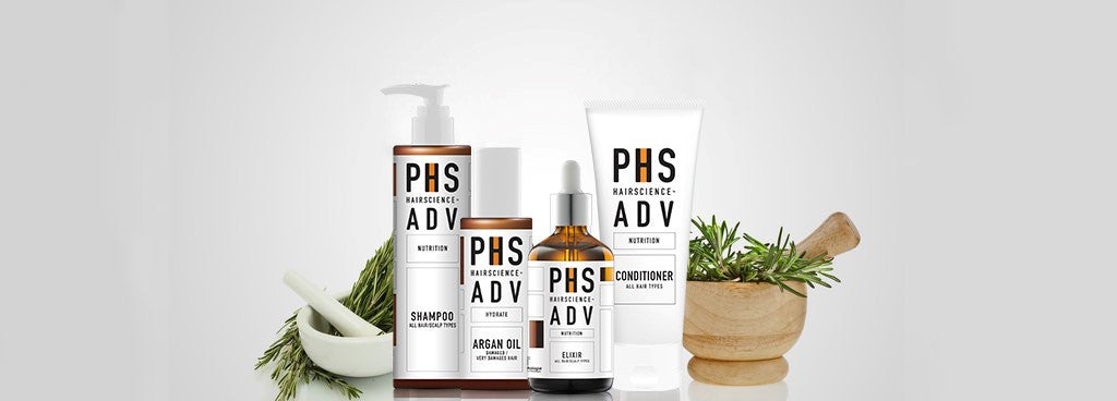 PHS HAIRSCIENCE home care products