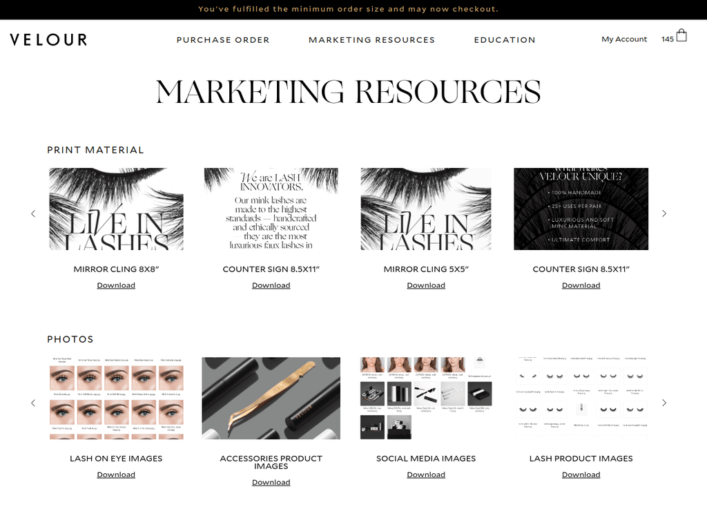 Marketing Resources for Wholesale
