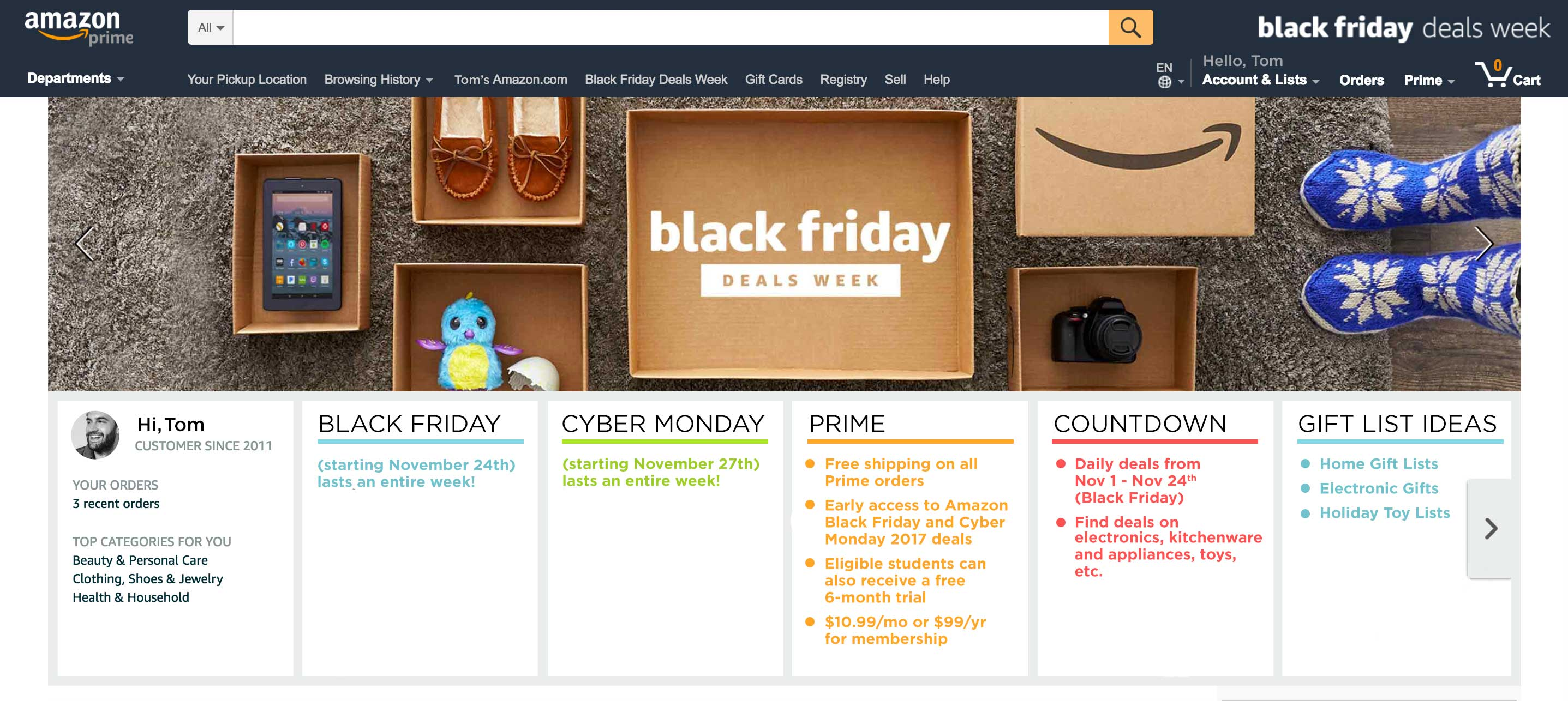 Amazon Holiday Days